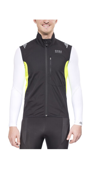 GORE BIKE WEAR ELEMENT WS AS Vest Men black/neon yellow
